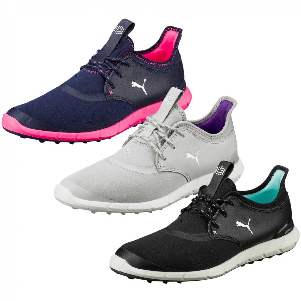 PUMA IGNITE SPIKELESS SPORT shoes blacksilveraruba blue