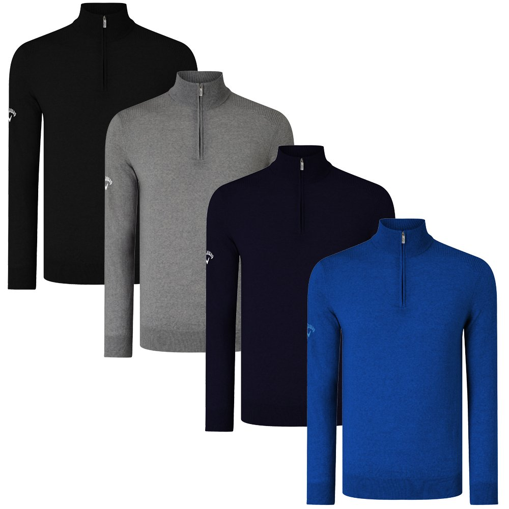 Order Callaway Ribbed Merino 14 Zip Sweaters Golf Quality At